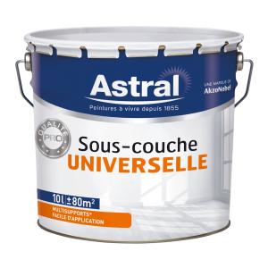 Peinture sous couche universelle - Astral - Acrylique - 10 L