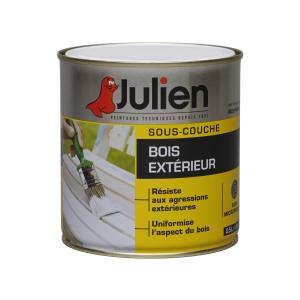 Peinture sous-couche - Peintures Julien - Bois extérieur - 0.5 L