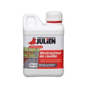 Peinture Destructeur de rouille - Peintures Julien - 0.5 L