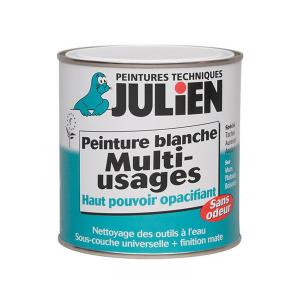 Sous couche peinture blanche Multi_usages - Peintures Julien - 0.5 L