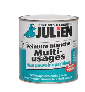 Sous couche peinture blanche Multi_usages - Peintures Julien - 2.5 L