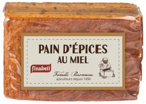 Pain d'épices au miel - Finabeil - 150 gr