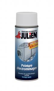 Aérosol Peinture électroménager - Peintures Julien - Blanc - 0.4 L