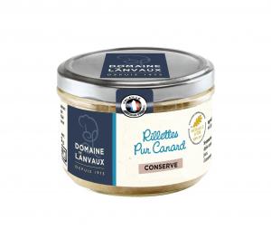 Rillettes Pur Canard - Domaine de Lanvaux - 180 g
