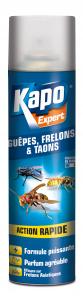 Anti-Guêpes, Frelons, Taons - Kapo - Aérosol de 400 ml