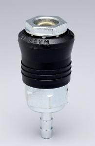 Raccord rapide universel pour tuyau Ø 10 mm