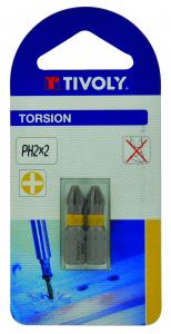 Embout Torsion PH2 - Tivoly