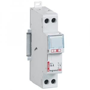 Disjoncteur Phase + Neutre - Le Grand - 16 A - bornes automatiques - 1 module