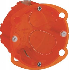 Boîte à encastrer Batibox multimatériaux - Le Grand - 1 poste - Profondeur 40 mm