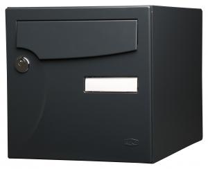 Boîte aux lettres - Animation - Renz - 1 porte - Gris