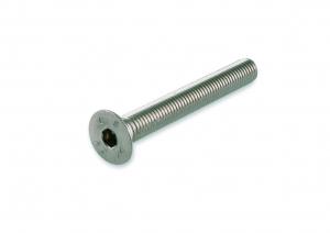Vis métal - Tête cylindrique 6 pans creux - En inox A2 - M5 x 20 mm - 6 pièces