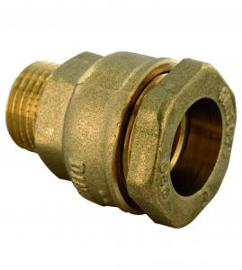 Raccord laiton mâle - ø32 mm - 26 x 34