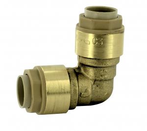 RSO raccord coude égal - Noyon & Thiebault - Laiton - Ø 12 mm