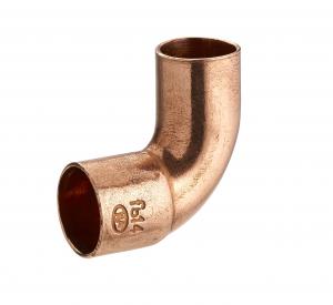 Coude 90° - Noyon & Thiebault - Cuivre à souder - Petit rayon Mâle-Femelle égal - Ø 12 mm