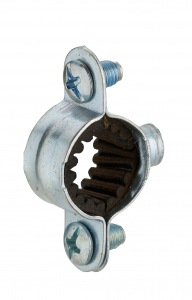 Collier de fixation isophonique simple - Noyon & Thiebault - Ø 16 mm - Lot de 5