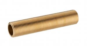 Traversée de cloison - Noyon & Thiebault - Laiton - 26 x 34 - Longueur 100 mm