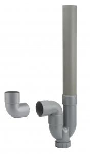 Siphon simple Noyon & Thiebault - Sortie horizontale et verticale - Ø 40