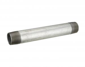 Tube fer galva Noyon & Thiebault - M20x27 - L 10 cm