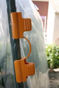 Tomatoclips pour tuteur arceaux - Nortene - x10
