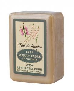 Savonnette beurre de karité, miel de Bruyère - Marius Fabre - 150 g
