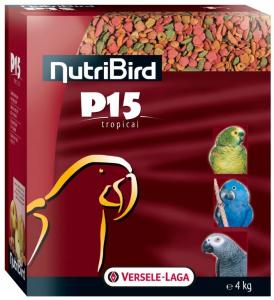 Nutribird P15 Tropical pour perroquets - Versele-Laga - 4 Kg