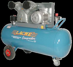 Compresseur à courroie triphasé - LACME - 36 V 200 T