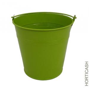 Pot de fleur en zinc - Horticash - vert - Ø 7.5 cm
