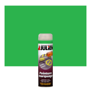 Aérosol peinture de marquage - Peintures Julien - Vert - 0.5 L