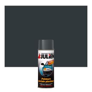 Aérosol peinture spéciale plastique - Peintures Julien - Gris - 0.4 L
