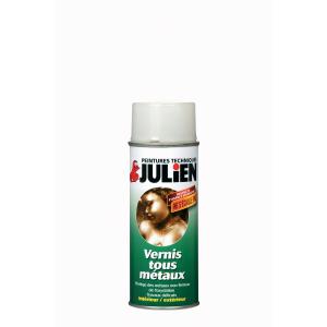 Aérosol vernis tous métaux - Peintures Julien - 0.4 L