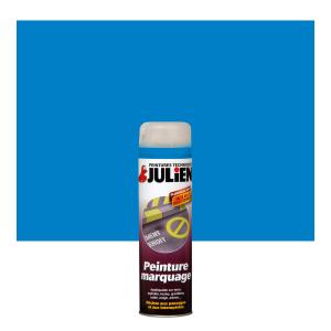 Aérosol peinture de marquage - Peintures Julien - Bleu - 0.5 L