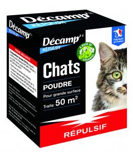 Répulsif en poudre spécial chat Décamp' - CREA