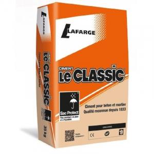 Ciment Le Classic - Lafarge - gris - 35 kg
