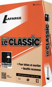 Ciment Le Classic - Lafarge - gris - 25 kg