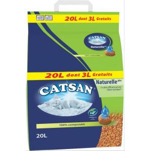 CATSAN NATUREL 20L DT3GRA