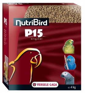 Nutribird P15 Original pour perroquets - Versele-Laga - 4 Kg