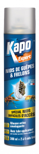 Mousse enveloppante nids de guêpes et frelons - Kapo - Aérosol de 300 ml