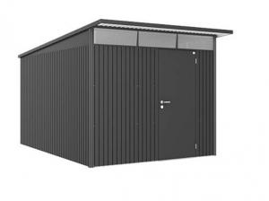 Abri de jardin métal - Avantgarde - 1 porte - Taille 2 XL - 260 x 380 x 222 cm