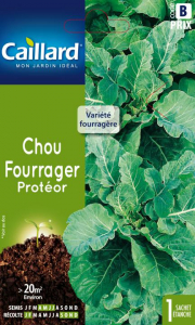 Chou fourrager Proteor - Graines - Caillard - Sachet éco