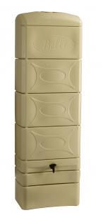 Récupérateur d'eau mural beige BELLI - 300 L