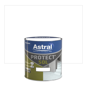 Peinture Protect'sol - Astral - Satin  - Blanc - 0.5 L