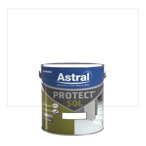Peinture Protect'sol - Astral - Satin  - Blanc - 2.5 L