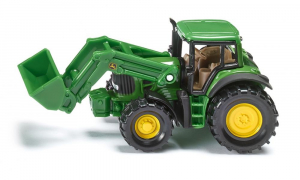 Tracteur John Deere avec chargeur frontal - Siku - 1/64