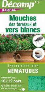 1643116 - Insecticide aux nématodes contre vers blancsmouches Décamp' Radical - CREA