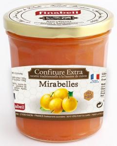 Confiture de mirabelles au miel - Finabeil - 375 gr