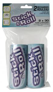 2 recharges rouleau adhésif - Stick & Roll