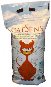 Litière biologique agglomérante - CatSens - 7 kg