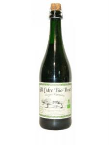 Cidre - Réginéen - Brut - Bio - Bouteille de 75 cl