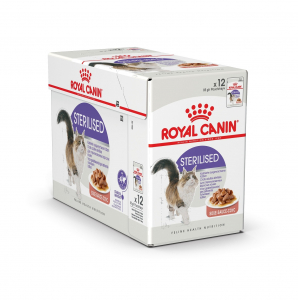 Émincés en sauce pour chat - Royal Canin - Adulte stérilisé - 12 x 85 g