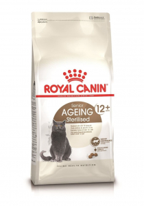 Croquettes pour chat stérilisé - Royal Canin - Stérilisé 12 ans et plus - 400 g